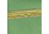 "5 Yds   1 1/4""    Gold Metallic Braid   3070"