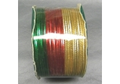 Spool Metallic Elastic Holiday Cord   4147