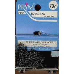 Hooks Eyes & Loops   4009