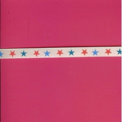 "5 Yds 3/8""  Stars Ribbon    2267"