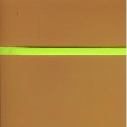 "5 Yds 1/4""  Neon Yellow Ribbon   2287"