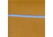 "5 Yds 1/4"" Poly Lt. Blue White Stitch Grosgrain Ribbon   3573"
