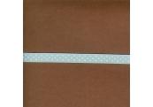 "5 Yds 3/8"" Poly Blue White Dot Grosgrain Ribbon  3591"