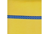 "5 Yds 3/8"" Royal Blue/White Polka Dot Grosgrain Ribbon  3599"