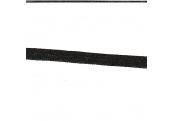 """5 Yds  1/4""""  Black Thin Ribbon   3936"""