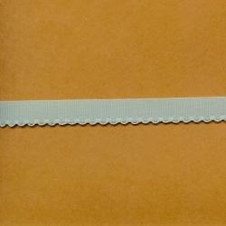 """5 Yds  1/2""""  Sea Green Grossgrain Ribbon/w Loops  3952"""