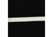 "5 Yds  1/2""  Cream Grossgrain Ribbon / w Loops  3953"
