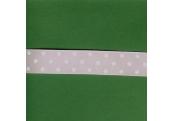 """5 Yds 7/8""""  Pink/White Dot Grosgrain Ribbon  4039"""