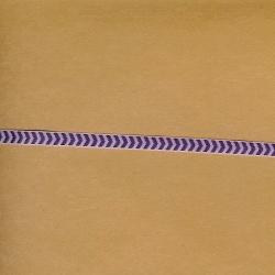 "5 Yds 1/4"" Purple Chevron Ribbon   4189"