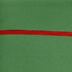 "5 Yds 1/4"" Single Faced Red  Satin Ribbon   4483"