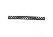 """5 Yds 3/8"""" Black/White Dot Grossgrain Ribbon 4491"""