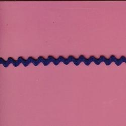 "5 Yds   3/8""  Royal Blue Rick Rack   1313"