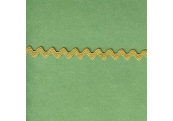 "5 Yds  1/4""  Tiny Lite Olive Rick Rack  3099"