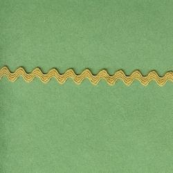 """5 Yds  1/4""""  Tiny Lite Olive Rick Rack  3099"""