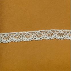 """5 Yds   5/8""""  Light Blue Stretch Lace    1884"""