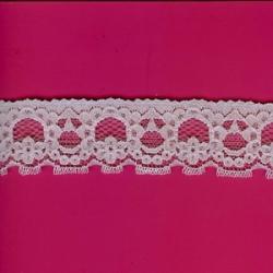 "5 Yds  1 1/4""  Lilac Stretch Lace  3783"