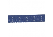 "231 Yds  3/4""  Navy  Stretch  Lace  4031"