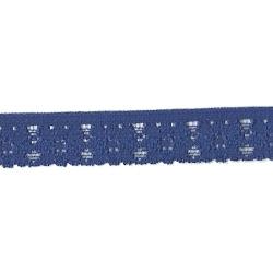 """100 Yds  3/4""""  Navy  Stretch  Lace  4031"""