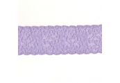 "5 Yds   2 1/8""   Lilac Stretch  Lace 4069"