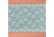 "5 Yds  6""   Blue/Green Stretch Lace   4230"