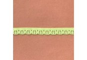 """5 Yds  3/8""""  Apple Green Stretch Lace  4349"""