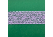 "50 Yds  2 1/4"" Lilac Stretch Lace  4410"