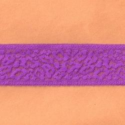 "7 1/2 Yds 2  3/8"" Fuchsia Stretch Lace 4411"