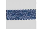 "50 Yds  2 1/4""  Blue Stretch Lace 4413"