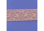 "145 Yds  2 1/2""  Spool Nude Stretch Lace  4429"