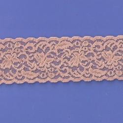 "50 Yds  2 1/2""  Spool Nude Stretch Lace  4429"