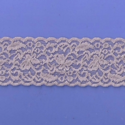 """5 Yds  2 3/8""""  Sugared Violet Stretch Lace  4430"""
