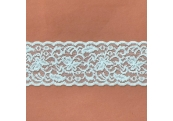 "5 Yds  2 1/2""  Mint Green Stretch Lace   4448"