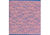 "5 Yds   9""  Pink Stretch Lace  4818"