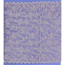 "67 Yds   9""  Lilac Frost Stretch Lace  4820"