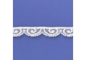 """125 Yds   9/16""""  Pearl Stretch Lace   4832"""