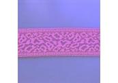 "50 Yds  2 3/8""  Magenta Pink Stretch Lace  4874"