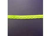 "391 Yds  3/8""   Neon Lemon Stretch Lace  4910"