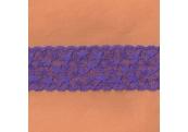 "5 Yds  2 1/2""  Purple Stretch lace  4920"