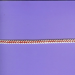 "5 Yds   3/16""    Red & White  Trim   1072"