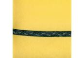 """5 Yds   7/16""""    Green/Blue Braided Braid   1084"""
