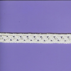 "5 Yds    5/8""   White Cotton Trim   1282"