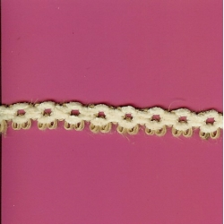 "5 Yds  5/8""  Jute/Chenille Loop Trim  1422"