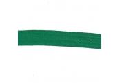 """5 Yds  1 1/8""""  Green Flat  Braid   1898"""
