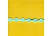 "5 Yds  5/8""  Mint Green Popcorn Trim   1980"