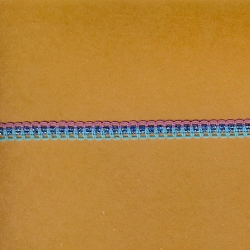 "5 Yds   3/8""    Blues/Pink Braid Trim   2210"