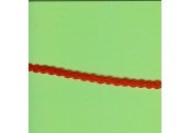 "5 Yds   1/4""   Cotton Red Flat Braid Trim   2451"