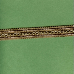 "5 Yds   5/8""    Brown Braid Trim   2824"
