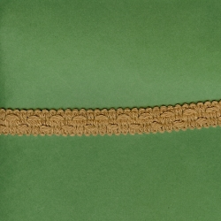 "5 Yds   3/4""    Tan Braid Trim  2853"