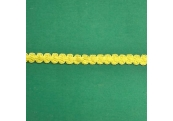 "5 Yds 3/8""   Yellow Cotton Shell Braid   3489"