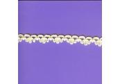 "5 Yds   1/2""    Ivory Cotton Trim   3493"